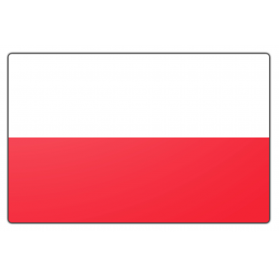 Polen vlag (70x100cm)