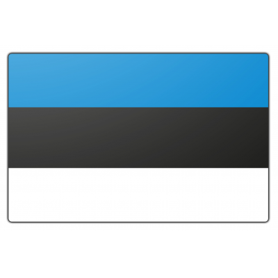 Estland vlag (200x300cm)