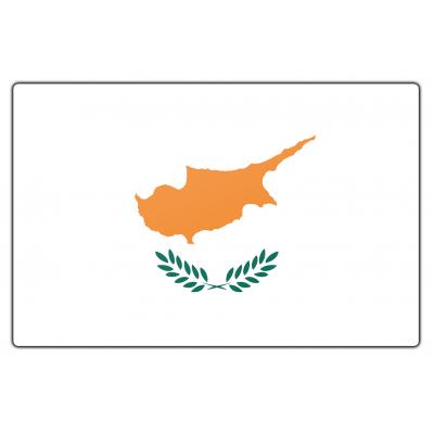 Cyprus vlag (100x150cm)