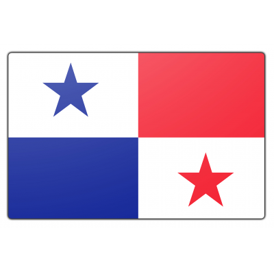 Panama vlag (70x100cm)