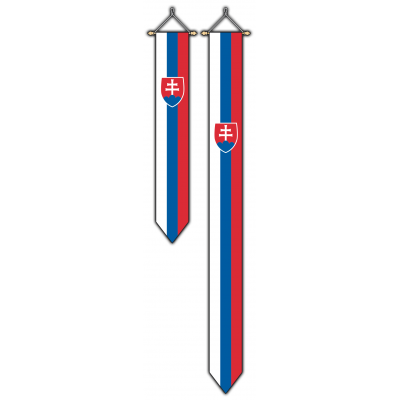 Slowakije wimpel (30x175cm)