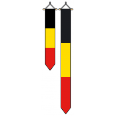België wimpel (30x175cm)