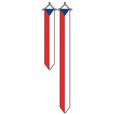 Tsjechië wimpel (30x175cm)
