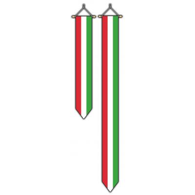 Hongarije wimpel (30x175cm)
