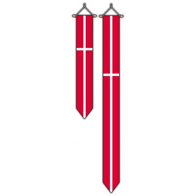 Denemarken wimpel (30x300cm)