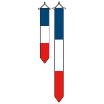 Frankrijk wimpel (30x300cm)