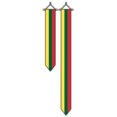 Litouwen wimpel (30x300cm)