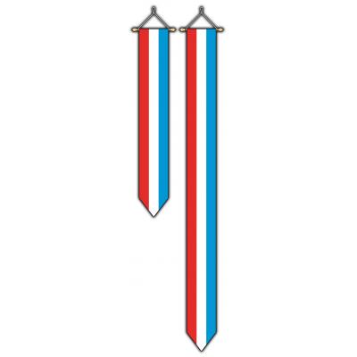 Luxemburg wimpel (30x300cm)
