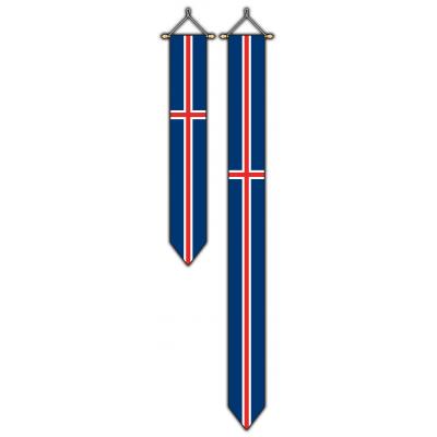Noorwegen wimpel (30x300cm)
