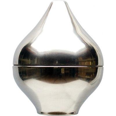 Peerknop, silver