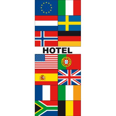 Meerlandenbanier hotel(240x90cm)