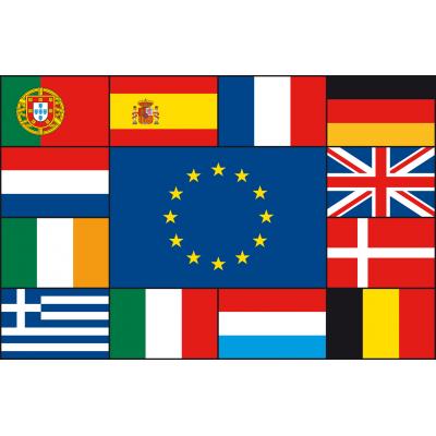 Meerlandenvlag (200x300cm)