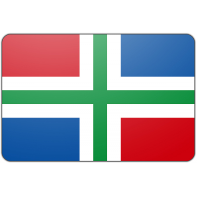 Provincie Groningen vlag (70x100cm)