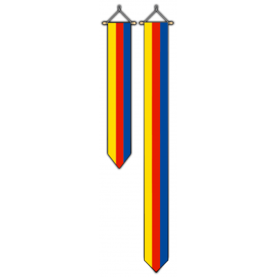 Provincie Noord Holland wimpel (30x175cm)