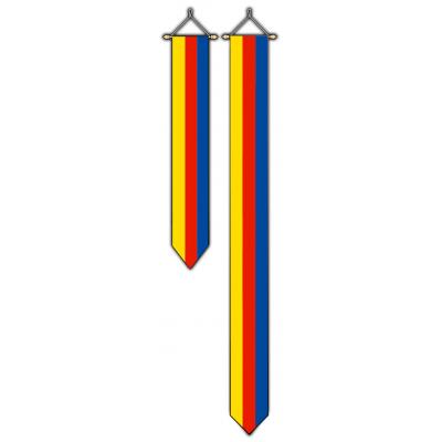 Provincie Noord Holland wimpel (30x300cm)
