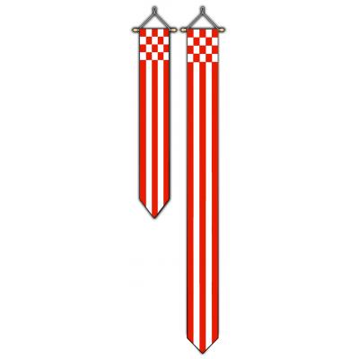 Provincie Noord Brabant wimpel (30x300cm)