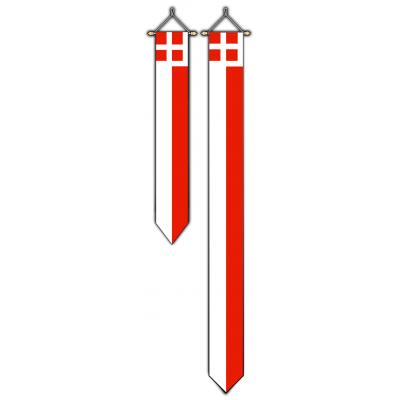 Provincie Utrecht wimpel (30x300cm)