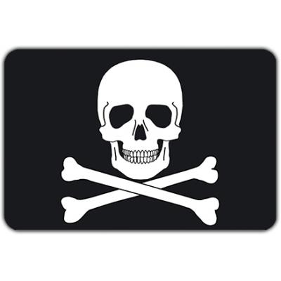 Scheepsvlag Piratenvlag (200x300cm)