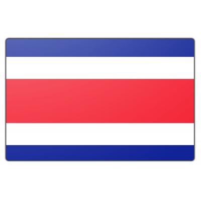 Tafelvlag Costa Rica zonder mastje (10x15cm)