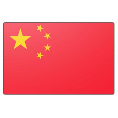 Tafelvlag China zonder mastje (10x15cm)