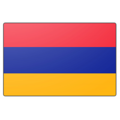 Tafelvlag Armenië zonder mastje (10x15cm)