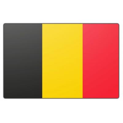 Tafelvlag België zonder mastje (10x15cm)
