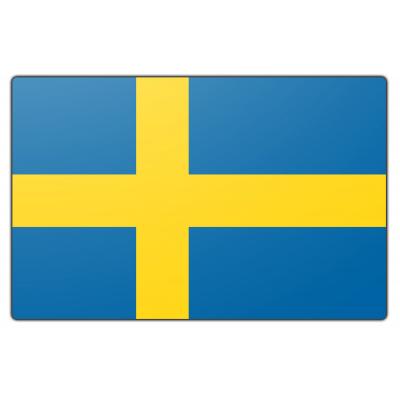 Tafelvlag Zweden zonder mastje (10x15cm)