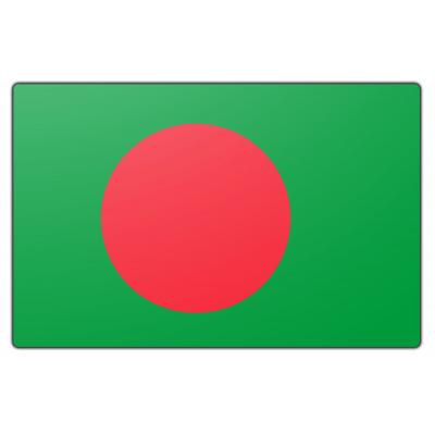 Tafelvlag Bangladesh zonder mastje (10x15cm)