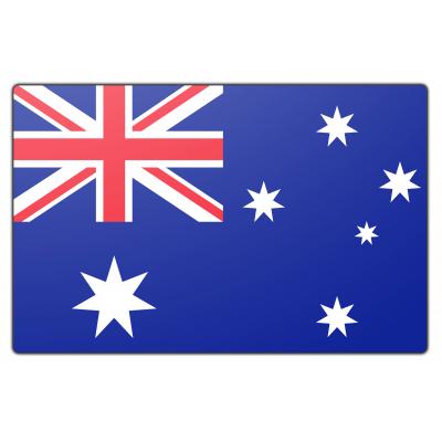 Tafelvlag Australië zonder mastje (10x15cm)