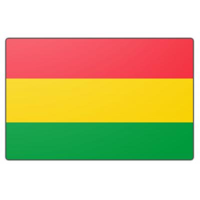 Tafelvlag Bolivia zonder mastje (10x15cm)