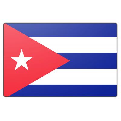Tafelvlag Cuba zonder mastje (10x15cm)