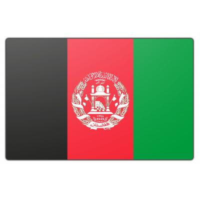 Tafelvlag Afganistan zonder mastje (10x15cm)