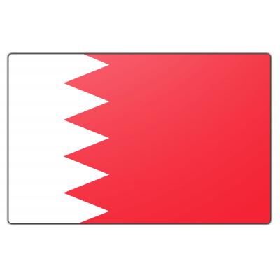 Tafelvlag Bahrein zonder mastje (10x15cm)