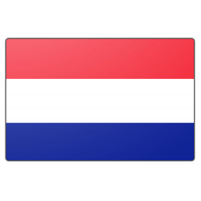 Tafelvlag Nederland zonder mastje (10x15cm)