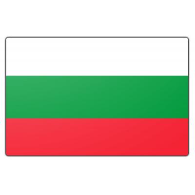 Tafelvlag Bulgarije zonder mastje (10x15cm)