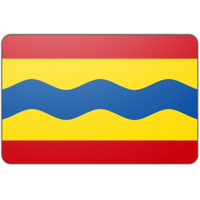 Tafelvlag Overijssel zonder mastje (10x15cm)