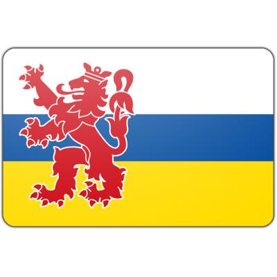 Tafelvlag Limburg zonder mastje (10x15cm)