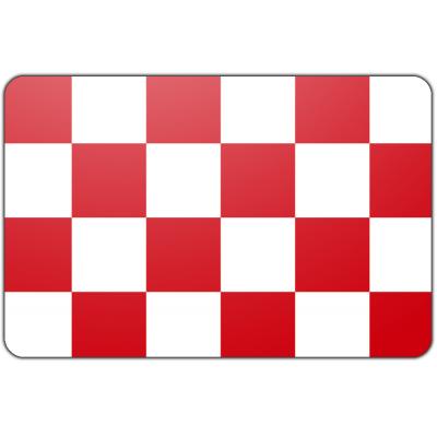 Tafelvlag Noord Brabant zonder mastje (10x15cm)