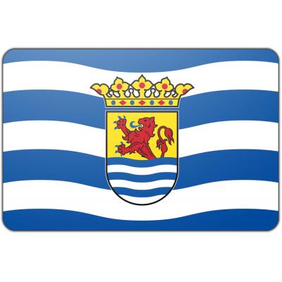 Tafelvlag Zeeland zonder mastje (10x15cm)