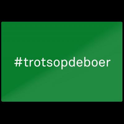 #trots op de boer (70x100 cm.)