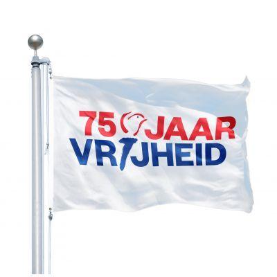 75 jaar vrijheid vlaggen