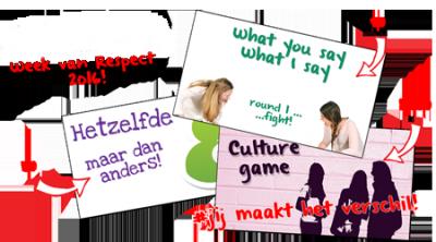 Donderdag 10 en vrijdag 11 november: Lessen over respect op verschillende basisscholen