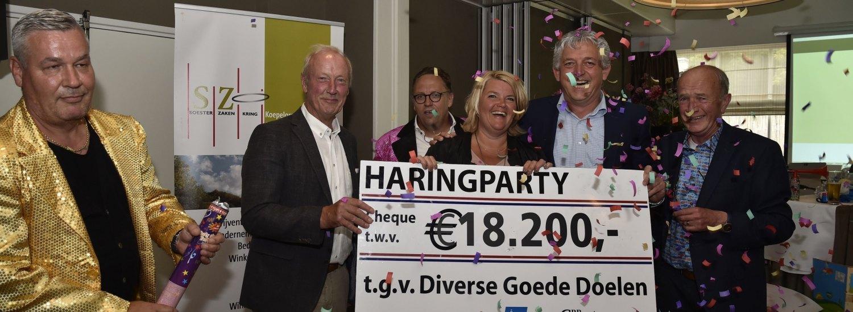 Opbrengst Veiling Haringparty Soest-Baarn 2018: 18.200,-